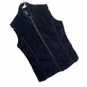 Vintage 90s Woolrich Corduroy Vest Womens L Black